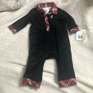 Little Me Onesie SZ 6 Months Baby Holiday Outfit